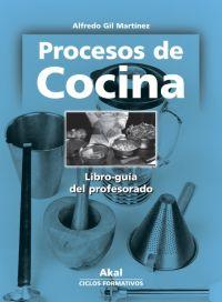 procesos de cocina libro del profesor akal